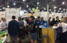 Very busy in the Ed Tech Start Up Pavilion 2nd day at ISTE2015!