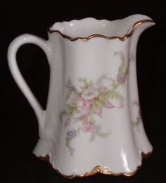 Warwick USA China Creamer Pitcher - Apple Blossom