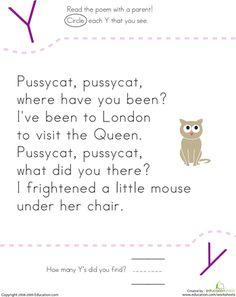 Nursery Rhyme Poems | Examples of Nursery Rhyme Poetry