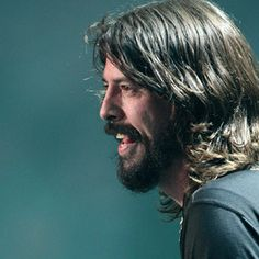 Dave 'I can do anything, grow any kind of facial hair, play any instrument, general rock god' Grohl
