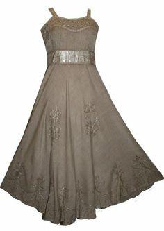 #1003 Wedding Evening Party Spaghetti Strap Dress Gown (Beige; L) Agan Traders,http://www.amazon.com/dp/B00CL9OCWA/ref=cm_sw_r_pi_dp_n5Hbtb0XTKENESRE
