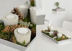 Kerzenhalter aus Beton | DIY LOVE
