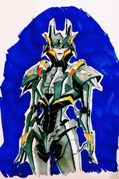 Cybertronian Silverjumper by Blink2 on deviantART