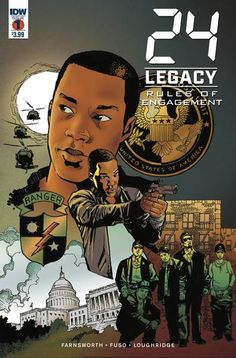 24 Legacy Rules Of Engagement #1 (Of 5)