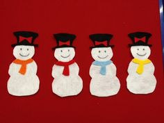 Five Little Snowmen « Tickle the Clouds