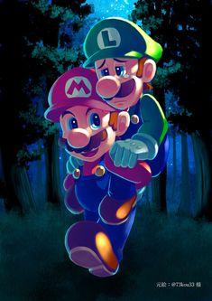트위터 Mario Und Luigi, Super Mario And Luigi, Super Mario Art, Super Mario Brothers, Super Mario Kunst, Super Mario Bros Nintendo, Stylish Photo Pose, Kawaii Chan, Paper Mario
