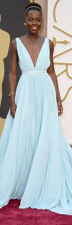 Lupita Nyong'o @ Academy Awards 2014 In Prada | LBV ♥✤