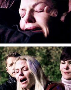 The fact that he spent his last few moments comforting her just kills me...