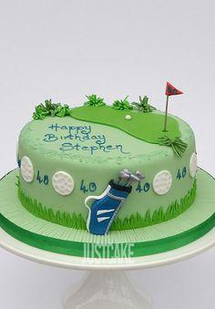 Golf Birthday Cake by Just Cake in Norfolk…