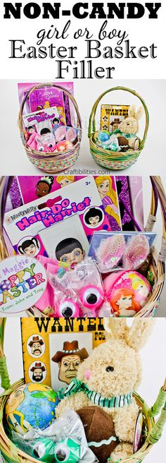 Girls themed easter basket 5000 tinkerbell barbie younger kids no candy easter basket ideas for a boy and girl perfect negle Image collections