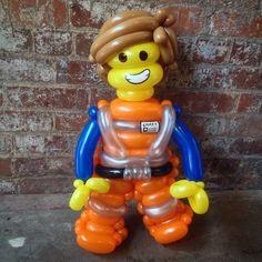 Day 346: EVERYTHING IS AWESOME! - #LEGO  #BalloonAnimals #Balloons #365DayChallenge #LegoMovie