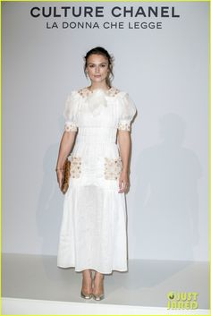 Keira Knightley  at the Culture Chanel Exhibition Opening.