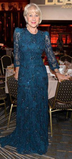 Dame Helen, Helen Mirren, Dresses With Sleeves, Formal, Long Sleeve, Bikinis, Style, Fashion, Preppy