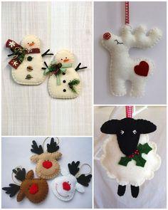 W drugim świątecznym wpisie mam dla Was kilka inspiracji na świąteczne ozdoby z filcu. Trzeba się trochę natrudzić, żeby je przygotować, b...