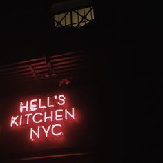 Hell\'s Kitchen aesthetic