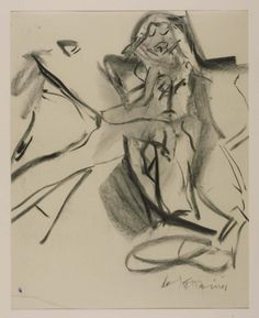 Willem de Kooning 'Untitled', 1966–7 © Willem de Kooning Revocable Trust/ARS, NY and DACS, London 2015