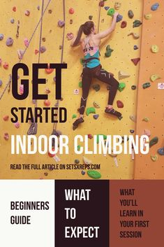 Improve grip strength and endurance with indoor climbing   Click the website to read the full review about what to expect during your first indoor climbing session