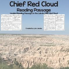 Browse over 50 educational resources created by Real Native Learning Resources in the official Teachers Pay Teachers store. Leveled Reading Passages, Reading Comprehension Passages, 2nd Grade Reading Worksheets, Short Passage, Learning Resources, Teaching Ideas, Red Cloud, Common Core Reading, Context Clues