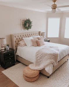 The post Cozy bedroom details care of Room Ideas Bedroom, Cozy Bedroom, Bedroom Inspo, Home Decor Bedroom, Adult Bedroom Ideas, Master Bedroom, Bedroom Bed, Aesthetic Bedroom, Bedroom Styles