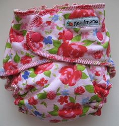 Rosebud Goodmama One-Size Fitted Diaper...this was my daughter's very first new cloth diaper.