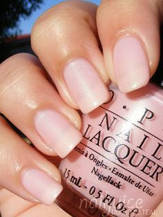 Nail Juice: OPI Isn't It Romantic? NL H35