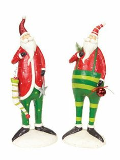 2 Santa Decorations by Gordon Companies, Inc. $168.00. Brand Name: Gordon Companies, Inc Mfg#: 30687552. Please refer to SKU# ATR25767890 when you inquire.. This product may be prohibited inbound shipment to your destination.. Picture may wrongfully represent. Please read title and description thoroughly.. Shipping Weight: 4.00 lbs. 2 Santa Decorations/24''H/made of paper mache
