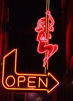 Hot Stuff: Glowing neon strip club and peep show signs from around the world | Dangerous Minds