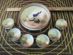 Vintage Hand Painted Nippon Nut Bowl Set :)