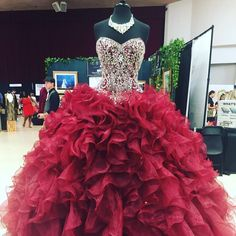 sweet 16 dress,burgundy quinceanera dresses #promdress #quinceanera #vestidosdequinceanera! get this dress from www.bygoods.com
