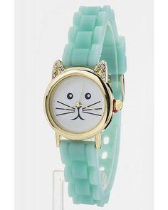 Kitty Watch in Mint