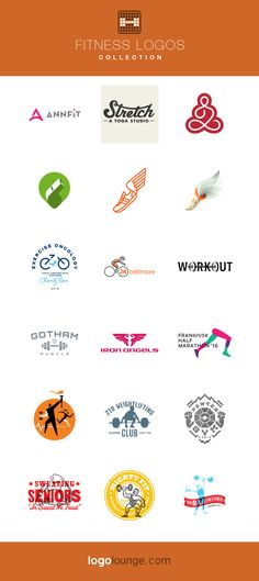 Logo Collection: Fitness