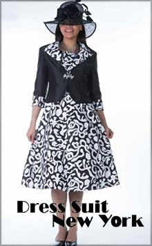 Designer women's suits and dresses for office, evening, church or any event