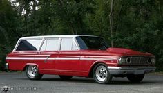 Ford Fairlane  Looks like a Thunderbolt wagon. Ford should have made this.