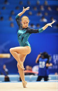 Ksenia Afanasyeva, member of the Russian 2012 Olympic team