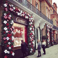 Cartier Christmas window.