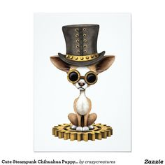 cute_steampunk_chihuahua_puppy_dog_invitation-rb31f1706f16846d4a20b27dda75d2225_zk916_1024.jpg (1104×1104)