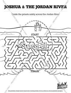 Image result for joshua crosses the jordan river