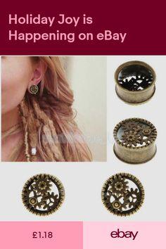 1 Pair ORGANIC Hand Carved Egyptian Eye Saba Wood Saddle Ear Plugs Taper Gauges