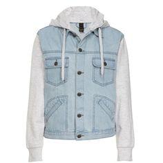 boyfriend fleece jacket (60 CAD) ❤ liked on Polyvore featuring outerwear, jackets, boyfriend jacket, blue fleece jacket, blue jackets and fleece jacket
