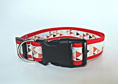 Custom Dog Collar with Pattern Personalized by EastTexasEmbroidery