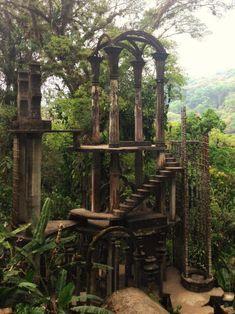 Las Pozas: Surreal Concrete Sculpture Garden in the Jungle of Mexico