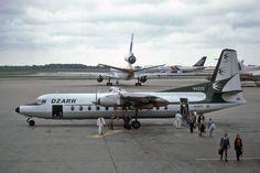 Ozark Air Lines Fairchild Hiller FH-227B