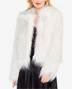 Shop Now - >  https://api.shopstyle.com/action/apiVisitRetailer?id=686695072&pid=uid6996-25233114-59 Vince Camuto Faux-Fur Jacket  ...