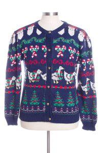 Blue Ugly Christmas Cardigan 31864