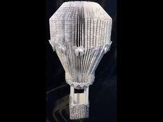 DIY WEDDING DECOR - HOT AIR BALLOON - easy step by step tutorial on bookfolding - YouTube