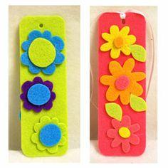 Craft Supplies: Sunshine Discount Crafts: PROJECTS » KIDS CRAFTS » FELTIES BOOKMARKS