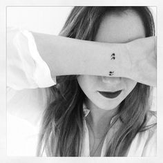 quotation mark tattoo | Tumblr