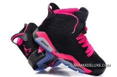bf894cf80a7 33 Best Pink and black Jordans images | Shoes sneakers, Athletic ...
