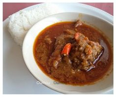 Palm nut soup or palm butter soup is my favorite West African soup. The soup is very famous in Ghana, Liberia, Sierra Leone, Guinea and Nigeria.