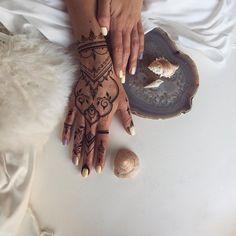 Море зовёт #Henna glove #veronicalilu